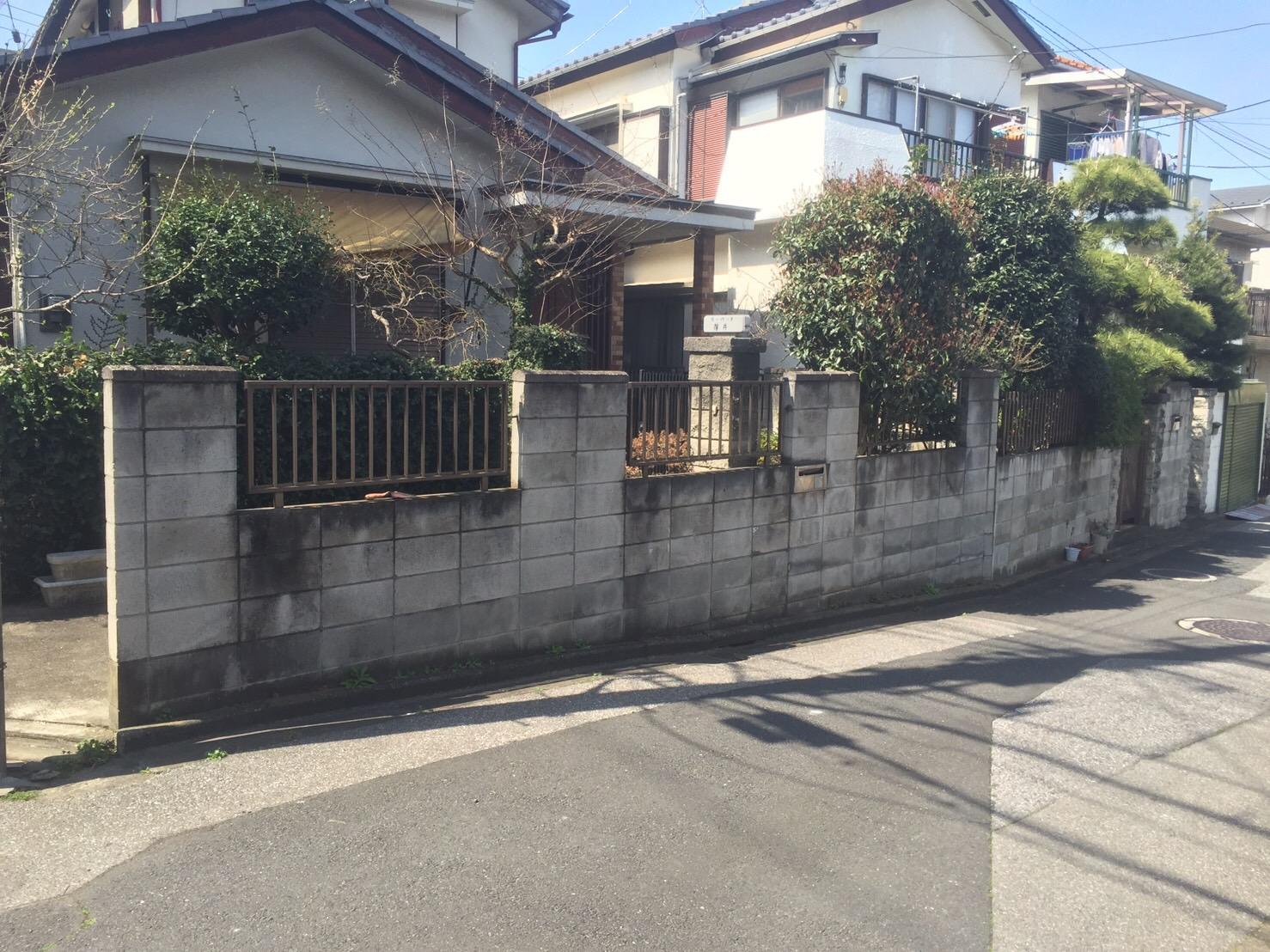 浦和市にて個人住宅解体工事を行いました。